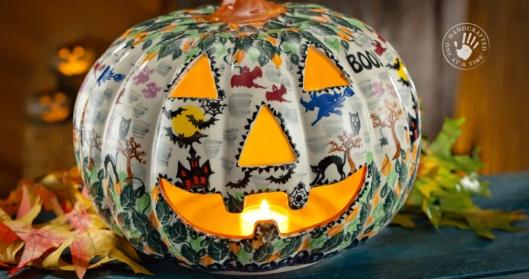 2014 Polish Pottery Jack-O'-Lantern