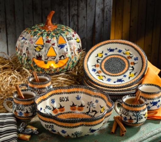 Polish Pottery Halloween Collection