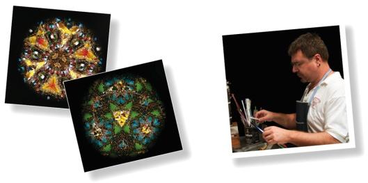 """Uno Alla Volta's """"Enchanted Garden"""" Kaleidoscope"""