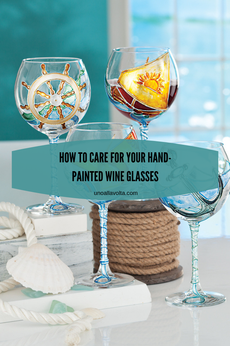 How To Care For Your Hand Painted Wine Glasses Artisan Moments